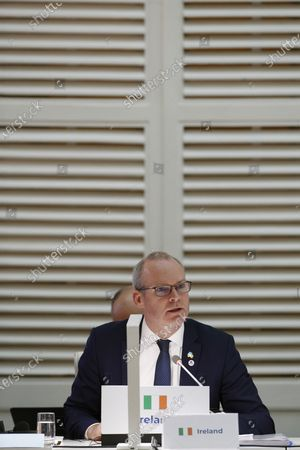 Irish Secretary of Foreign Affairs, Simon Coveney, attends the opening of the 14th Asia and Europe Foreign Ministers' Meeting in Madrid, Spain, 16 December 2019.