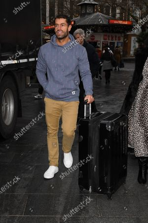 Editorial picture of Kelvin Fletcher out and about, London, UK - 16 Dec 2019