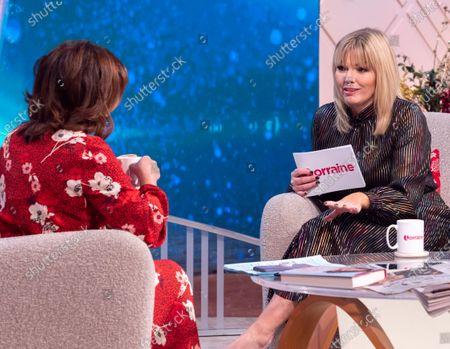 Lorraine Kelly and Kate Thornton