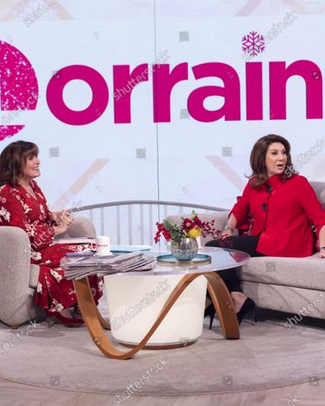 Editorial photo of 'Lorraine' TV show, London, UK - 16 Dec 2019