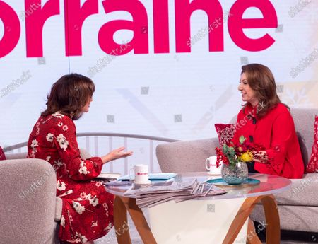 Stock Image of Lorraine Kelly and Jane McDonald