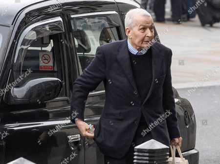 Former Labour MP Frank Field arrives at the Houses of Parliament