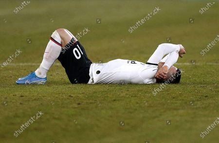 Editorial photo of Football: Germany, 1. Bundesliga, Gelsenkirchen - 15 Dec 2019