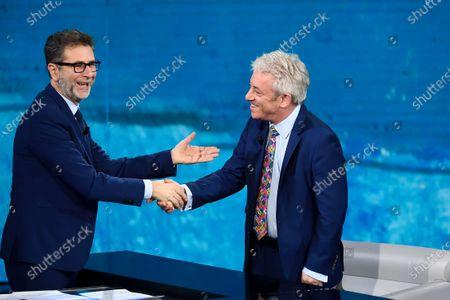 Editorial image of Rai 2 'Che tempo che fara' TV show, Milan, Italy - 15 Dec 2019