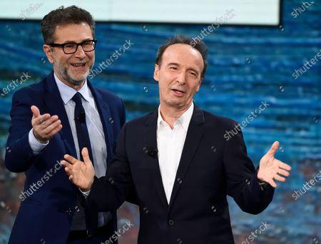 Editorial picture of Rai 2 'Che tempo che fara' TV show, Milan, Italy - 15 Dec 2019