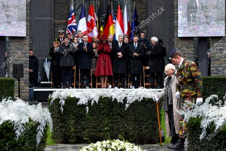 Editorial image of 75th anniversary of the Battle of the Bulge, Belgium - 16 Dec 2019