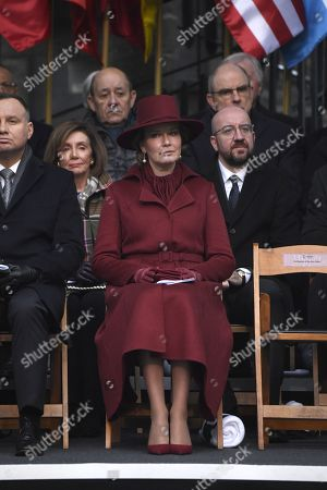 Queen Mathilde, Charles Michel, Koen Geens