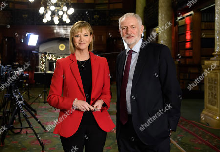 Editorial photo of 'The Leaders Interview: Jeremy Corbyn Tonight' TV Show, UK  - 04 Dec 2019