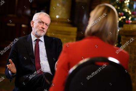 Jeremy Corbyn interviewed by Julie Etchingham