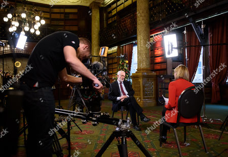 Editorial image of 'The Leaders Interview: Jeremy Corbyn Tonight' TV Show, UK  - 04 Dec 2019