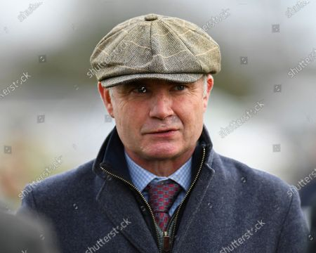 Trainer Chris Gordon during Horse Racing at Plumpton Racecourse on 16th December 2019