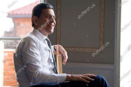 Editorial picture of David Miliband visit to Stockholm, Sweden - 04 Nov 2019