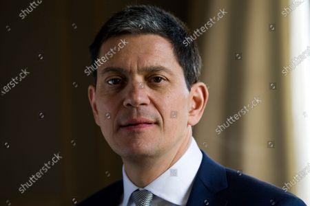 Stock Photo of David Miliband
