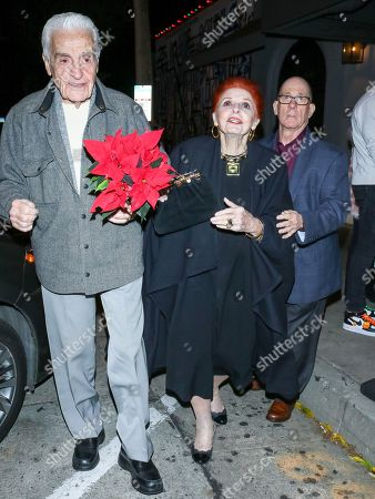 Stock Photo of Carole Cook and Tom Troupe are seen in Los Angeles