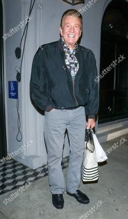 Stock Photo of Wink Martindale at Craig's restaurant in Los Angeles