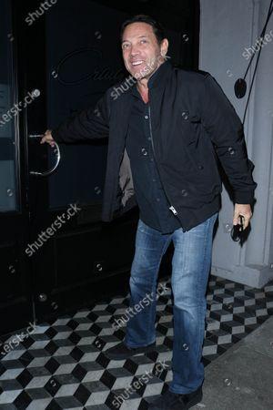 Stock Photo of Jordan Belfort at Craig's restaurant