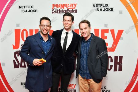 Nick Kroll, John Mulaney and Mike Burbiglia