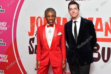 Andre de Shields and John Mulaney
