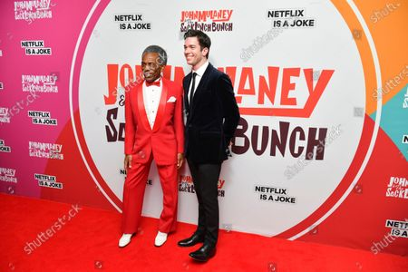 Stock Picture of Andre de Shields and John Mulaney