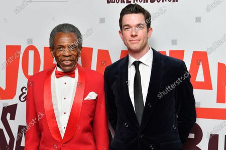 Editorial photo of 'John Mulaney and The Sack Lunch Bunch' premiere, Arrivals, Metrograph Theater, New York, USA - 16 Dec 2019