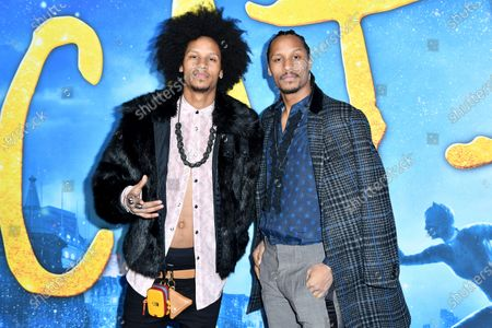 Stock Photo of Laurent Bourgeois and Larry Nicolas Bourgeois of Les Twins
