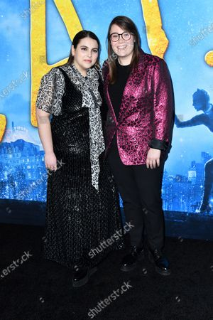 Beanie Feldstein and Bonnie Chance Roberts