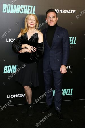 Patricia Clarkson and Michael Doyle