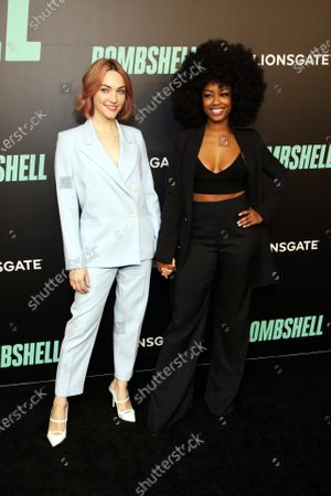 Stock Photo of Violett Beane and Javicia Leslie