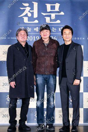 Choi Min-Sik, Hur Jin-ho, Han Suk-kyu