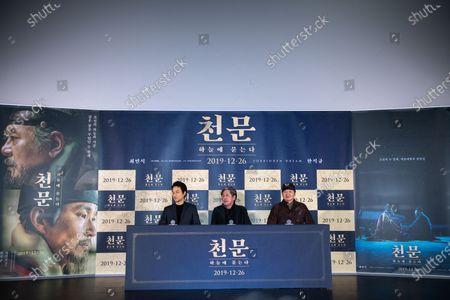 Han Suk-kyu, Choi Min-Sik, Hur Jin-ho