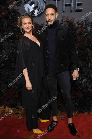 Stock Photo of Natalie Herron and Royce Pierreson