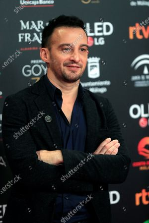 Alejandro Amenabar, nominee for Best Director for the film 'Mientras dure la guerra' (lit. While the war lasts), poses for the photographers during the nominees gala for the 34th edition of the Goya Film Awards in Madrid, Spain, 16 December 2019. The Goya Film Awards will be held in Malaga, Spain, 25 January 2020.