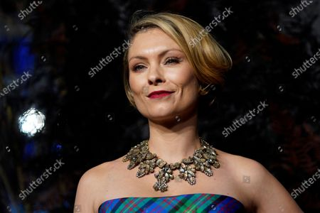 MyAnna Buring attends the world premiere of 'The Witcher' in London, Britain, 16 December 2019. The TV show is due to be released on Netflix on 20 December.