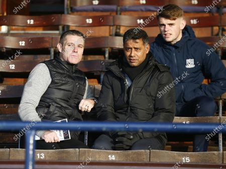 Stock Photo of SOUTHEND UNITED KINGDOM. : Steve Tilson Ex manager of Southend United during English Sky Bet League One between Southend United and Rotherham United on at Roots Hall Stadium, Southend, England (Photo by AFS/Espa-Images)