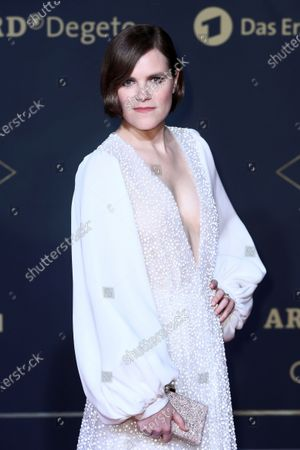 Fritzi Haberlandt poses during the premiere of the third season of the TV series 'Babylon Berlin' at the Zoo Palast in Berlin, Germany, 16 December 2019. The German crime drama is based on novels by author Volker Kutscher.