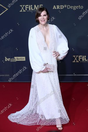 Stock Picture of Fritzi Haberlandt poses during the premiere of the third season of the TV series 'Babylon Berlin' at the Zoo Palast in Berlin, Germany, 16 December 2019. The German crime drama is based on novels by author Volker Kutscher.