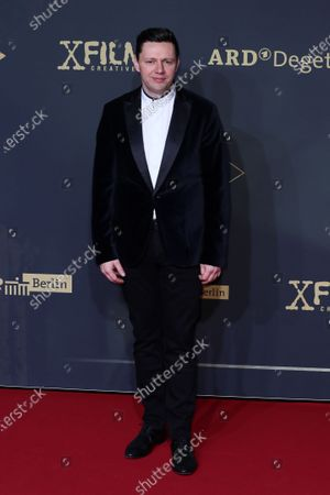 Christian Friedel poses during the premiere of the third season of the TV series 'Babylon Berlin' at the Zoo Palast in Berlin, Germany, 16 December 2019. The German crime drama is based on novels by author Volker Kutscher.