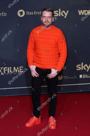 Stock Photo of Stefan Konarske poses during the premiere of the third season of the TV series 'Babylon Berlin' at the Zoo Palast in Berlin, Germany, 16 December 2019. The German crime drama is based on novels by author Volker Kutscher.