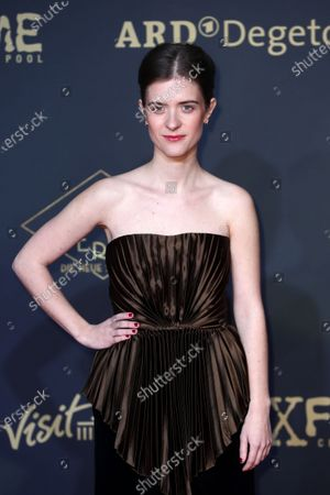 Liv Lisa Fries poses during the premiere of the third season of the TV series 'Babylon Berlin' at the Zoo Palast in Berlin, Germany, 16 December 2019. The German crime drama is based on novels by author Volker Kutscher.