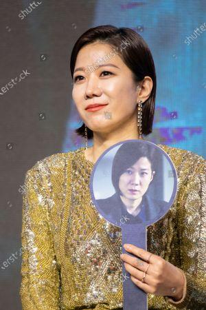 Editorial photo of 'Ashfall' film showcase, Seoul, South Korea - 16 Dec 2019