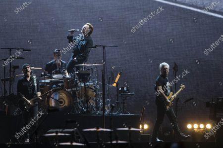 Editorial image of U2 in concert at DY Patil Stadium, Mumbai, India - 15 Dec 2019