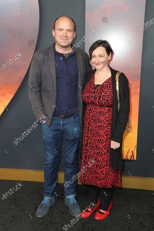 Rory Kinnear and Pandora Colin