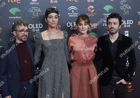 Marta Nieto, Rodrigo Sorogoyen, Isabel Pena