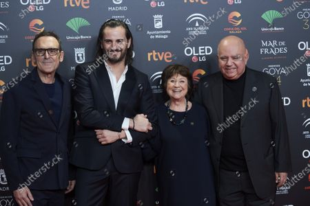 Editorial image of 34th Goya Film Awards nominees photocall, Madrid, Spain - 16 Dec 2019
