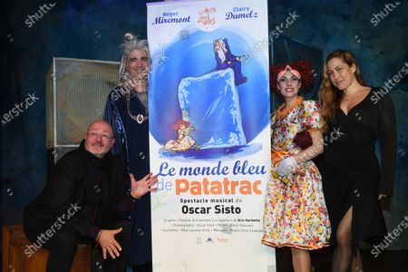 Claire Dumelz, Oscar Sisto, Roger Miremont and Myriam Charleins