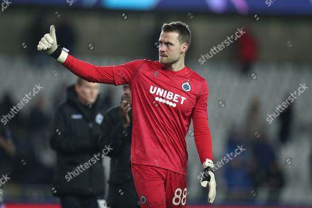 Club Brugge goalkeeper Simon Mignolet