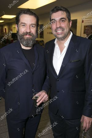 Stock Image of Ferdy Roberts (Dr Walker) and Tristan Baker (Producer)
