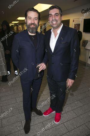 Ferdy Roberts (Dr Walker) and Tristan Baker (Producer)