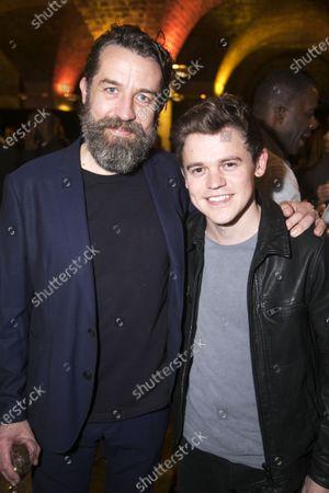 Ferdy Roberts (Dr Walker) and Sam Clemmett