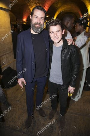 Stock Picture of Ferdy Roberts (Dr Walker) and Sam Clemmett